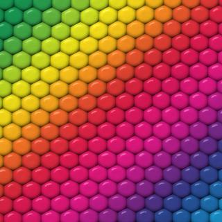 Rainbow - Obrázkek zdarma pro iPad mini 2