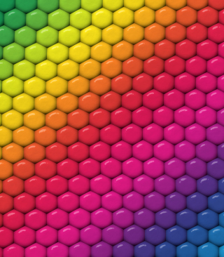 Rainbow - Obrázkek zdarma pro Nokia C1-00
