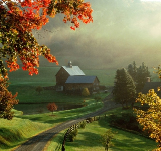 Beautiful Nature Landscape - Obrázkek zdarma pro 320x320
