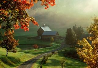 Beautiful Nature Landscape - Obrázkek zdarma pro LG Optimus M