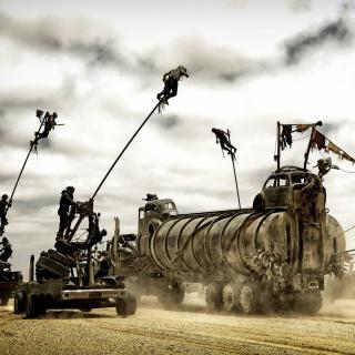 Mad Max fury Road - Obrázkek zdarma pro iPad mini 2