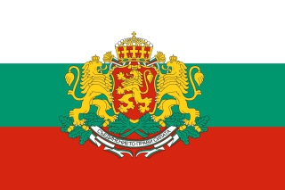 Bulgaria Gerb and Flag - Obrázkek zdarma pro Widescreen Desktop PC 1920x1080 Full HD