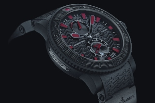Free Watch Ulysse Nardin Black Sea Picture for Android, iPhone and iPad