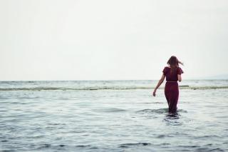 Walking On Water - Obrázkek zdarma pro Nokia Asha 205