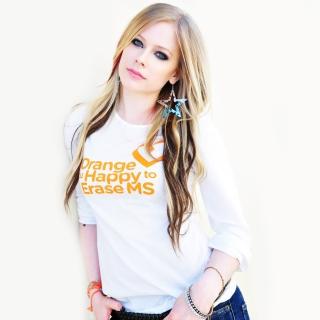 Avril Lavigne 2013 - Obrázkek zdarma pro 1024x1024