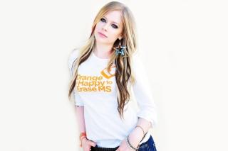 Avril Lavigne 2013 - Obrázkek zdarma pro LG Optimus M