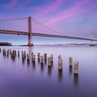 San Francisco Bay Bridge - Obrázkek zdarma pro iPad mini