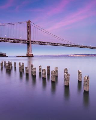 San Francisco Bay Bridge - Obrázkek zdarma pro 640x1136