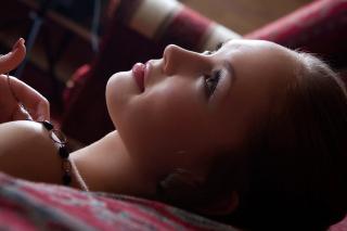 Pretty Girl Face - Obrázkek zdarma pro Samsung Galaxy Tab 7.7 LTE