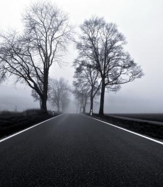 Black Road - Obrázkek zdarma pro iPhone 5