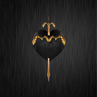 Sword In Heart - Obrázkek zdarma pro iPad Air