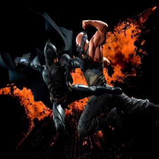 Batman VS Bane - Obrázkek zdarma pro 1024x1024
