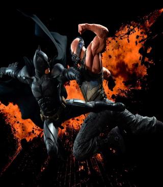 Batman VS Bane - Obrázkek zdarma pro Nokia X3