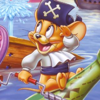 Jerry Pirate - Obrázkek zdarma pro 1024x1024