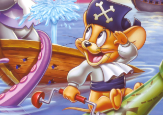 Free Jerry Pirate Picture for Android, iPhone and iPad