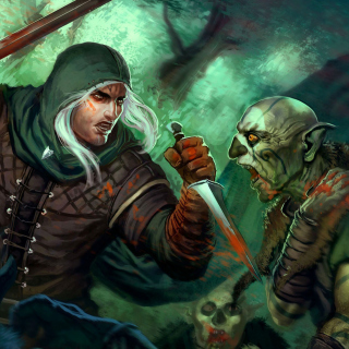 Goblins and Warrior - Obrázkek zdarma pro 2048x2048