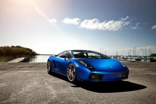 Lamborghini Gallardo Supercar - Obrázkek zdarma pro Nokia Asha 302
