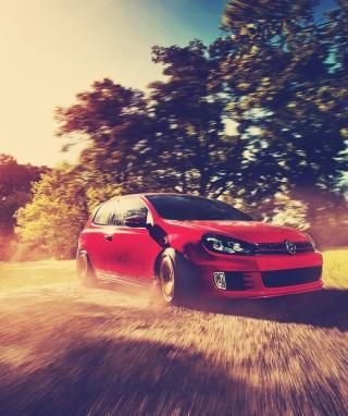 Red Golf Gti Drift - Obrázkek zdarma pro Nokia C6