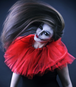 Joker Girl - Obrázkek zdarma pro Nokia C-Series