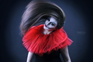 Joker Girl - Obrázkek zdarma pro Desktop Netbook 1366x768 HD