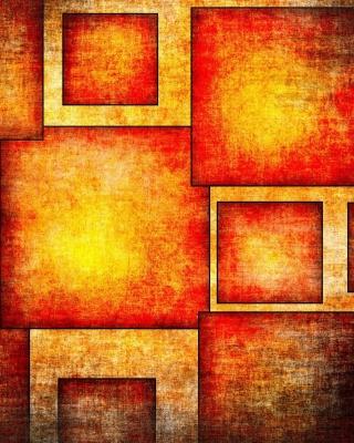 Orange squares patterns - Obrázkek zdarma pro Nokia C6