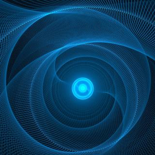 Blue Lines - Obrázkek zdarma pro iPad mini 2