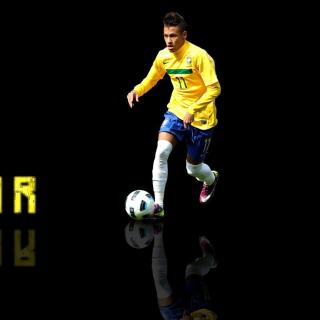 Neymar Brazilian Professional Footballer - Obrázkek zdarma pro 2048x2048