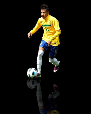 Neymar Brazilian Professional Footballer - Obrázkek zdarma pro Nokia 300 Asha