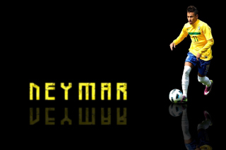 Neymar Brazilian Professional Footballer - Obrázkek zdarma pro 1080x960