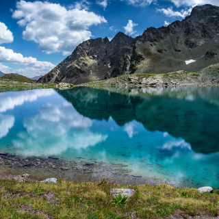 Lake Geneva in Switzerland - Obrázkek zdarma pro 320x320