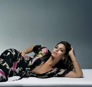 Eva Mendes - Obrázkek zdarma pro iPad mini 2