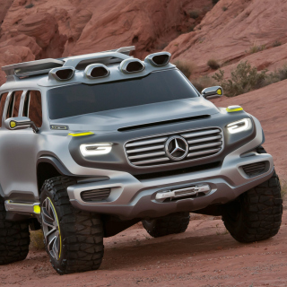 Mercedes Ener-G-Force Off-Road Concept - Obrázkek zdarma pro iPad Air