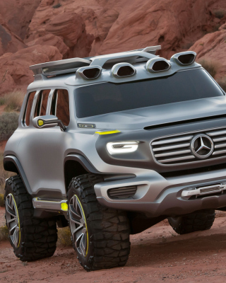 Mercedes Ener-G-Force Off-Road Concept - Obrázkek zdarma pro iPhone 5