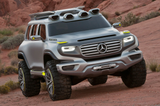 Mercedes Ener-G-Force Off-Road Concept Wallpaper for Android, iPhone and iPad