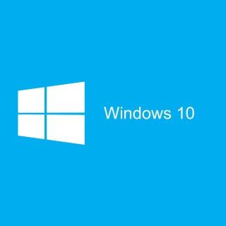 Blue Windows 10 HD - Obrázkek zdarma pro iPad Air