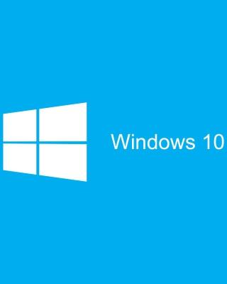 Blue Windows 10 HD - Obrázkek zdarma pro iPhone 5S