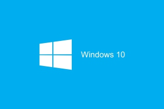 Blue Windows 10 HD Wallpaper for Android, iPhone and iPad