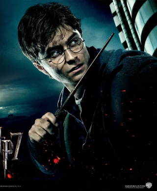 Harry Potter And Deathly Hallows - Obrázkek zdarma pro Nokia C-Series