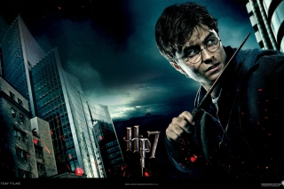 Harry Potter And Deathly Hallows - Obrázkek zdarma pro Motorola DROID 2