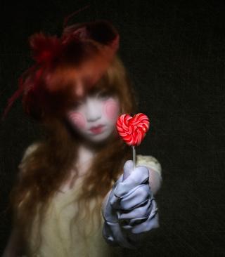 Heart Candy - Obrázkek zdarma pro iPhone 5