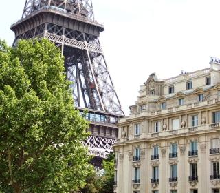 Paris, France, La Tour Eiffel - Obrázkek zdarma pro iPad