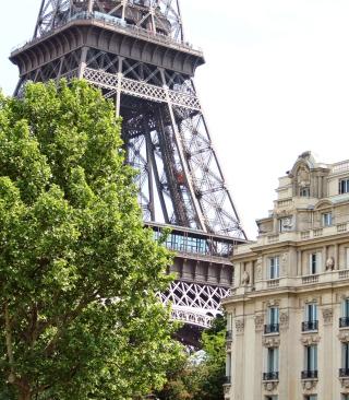 Paris, France, La Tour Eiffel - Obrázkek zdarma pro iPhone 5C