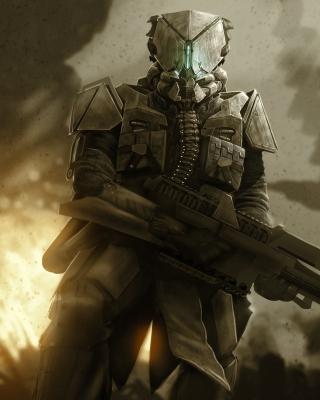 Warrior in Armor - Obrázkek zdarma pro iPhone 4S