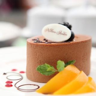 Chocolate Cake Decoration Design - Obrázkek zdarma pro iPad