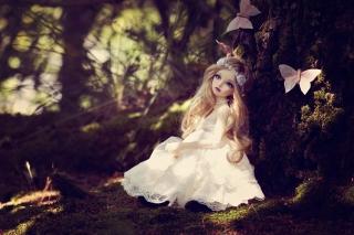 Beautiful Princess Doll - Fondos de pantalla gratis para Samsung S5367 Galaxy Y TV