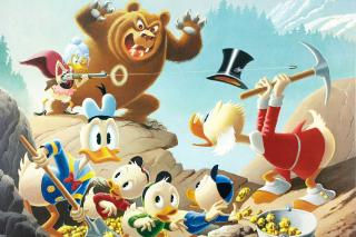 DuckTales, Scrooge McDuck, Huey, Dewey, and Louie - Fondos de pantalla gratis para Sony Ericsson XPERIA X10 mini pro