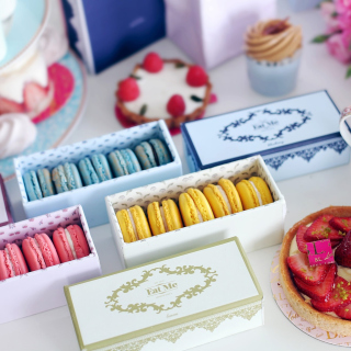 Delicious Macarons - Obrázkek zdarma pro iPad mini