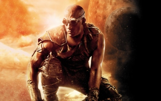 Vin Diesel Riddick Movie Background for Android, iPhone and iPad