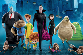 Hotel Transylvania 2 Background for Android, iPhone and iPad