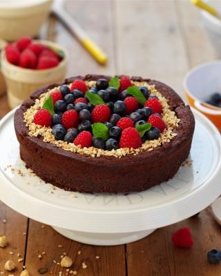 Berries Cake - Obrázkek zdarma pro 768x1280